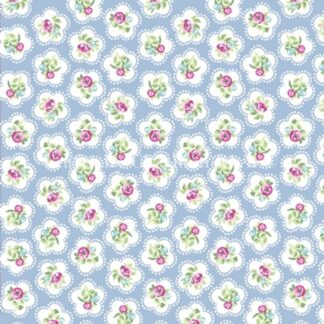 Lifestyle Dainty Flowers - Powder Blue