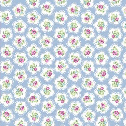 Lifestyle Dainty Flowers - Powder Blue