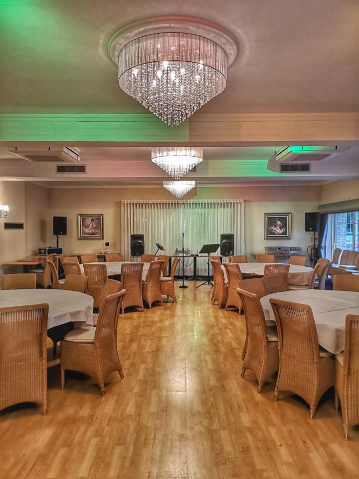 Moorland hotel ball room